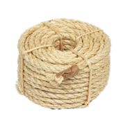 Sisal Natural Rope Light Brown 9.5mm x 15.2m