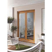 Jeld-Wen French Door Set Oak Veneer 1490 x 2090mm