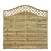 Forest Prague Fence Panels 1.8 x 1.8m Pack of 5