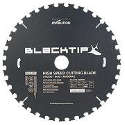 Black Tip Wood w/ Nails Blade 250mm 36T