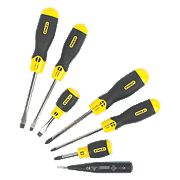 Stanley Comfort Grip Screwdriver Set 6 Piece Set