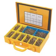 TurboGold Woodscrews General Trade Case Double-Self-Countersunk Pk1400