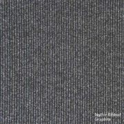 Heuga Ribbed Heavy Contract Carpet Tiles Graphite Pack of 20