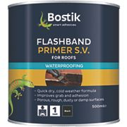 Flashband Bostik Flashband & Primer 500ml Black 89mm x 89mm