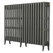 Arroll Neo-Classic 4-Column Cast Iron Radiator Cast Grey 760 x 1080mm