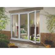 Ellbee uPVC Fold & Slide Double-Glazed Patio Door Left-Hand 2390 x 2090mm