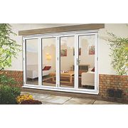 Ellbee uPVC Fold & Slide Double-Glazed Patio Door Left Hand 2990 x 2090mm