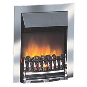 Dimplex Wynford Traditional Inset Electric Fire 2kW Chrome