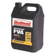 Unibond Waterproof PVA 5Ltr