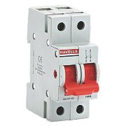 Havells 100A Double Pole Switch Disconnector Incomer for A Boards