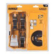 DeWalt DT20715-QZ Multi-Tool Saw Blades 240mm 5 Piece Set