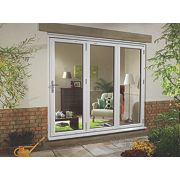 uPVC Fold & Slide Double-Glazed Patio Door RH White 1790 x 2090mm