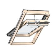 Velux Integra Solar Roof Window Centre-Pivot Noise Reduction Clear 1140x1180mm