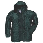 STORMBEATER JACKET FOREST GREEN LARGE