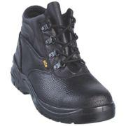 Site Slate Chukka Safety Boots Black Size 9