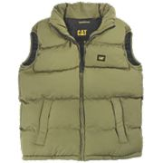 Cat C430 Bodywarmer Olive Large 42-44""