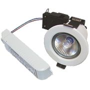 Sylvania Fixed Low Voltage Fire Rated Downlight Contractor Pack White 12V