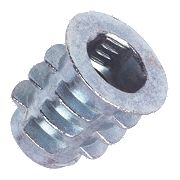 Insert Nuts Type D M6 x 13mm Pack of 50