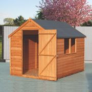 Shire Overlap Apex Shed 6' x 8' (Nominal)