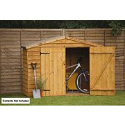 Forest Overlap Apex Bike Store 7 x 3 x 1.6m