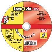 Flexovit Cutting Discs 230 x 1.9 x 22.23mm Pack of 3