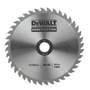 DeWalt DT1157-QZ Circular Saw Blade Portable 235 x 30mm 40T