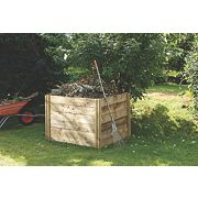Forest Slot-Down Composter Natural 1.1 x 0.8 x 1m