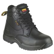 Dr Marten Drax Safety Boots Black Size 6