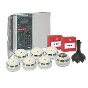 Tate FDWK604-0002 2-Zone 2-Wire Fire Alarm Kit 230V