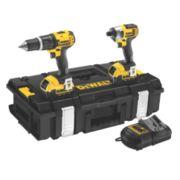 DeWalt DCK285M2 18V 4Ah Li-Ion Twin Pack Combi Drill & Impact Driver XR