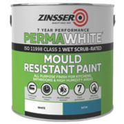 Zinsser Self-Priming Paint White 2.5Ltr