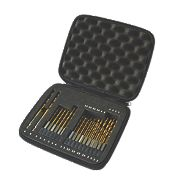 Erbauer HSS Quick-Change Drill Bit Set 28 Pieces