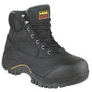 Dr Marten Heath Safety Boots Black Size 7