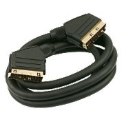 Screened Gold Contacts Scart to Scart lead 1.5m