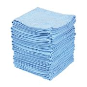 Microfibre Cloth Blue Pack of 50