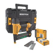Stanley Bostitch 2-in-1 40mm Pneumatic Brad Nailer & Stapler
