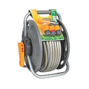 Hozelock 2-in-1 Reel with Hose 25m
