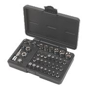 Forge Steel Specialist Bit & Star Socket Set 37Pcs