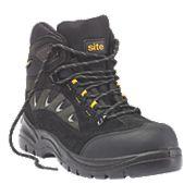 Site Granite Trainer Boots Black Size 8
