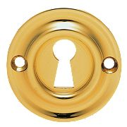 Carlisle Brass Standard Key Standard Key Escutcheon Stainless Brass 42mm