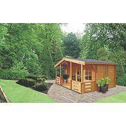 Shire Avalon Log Cabin 4.1 x 5m