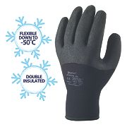 Skytec Argon Thermal Grip Gloves Black X Large