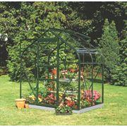 Halls Supreme 46 Aluminium Greenhouse Horticultural Glass 6