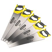"Stanley Sharpcut Saws 7Tpi 20"" Pack of 5"