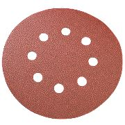 125mm Sanding Disc 60 Grit Pack of 10