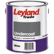 Leyland Trade Undercoat White 2.5Ltr