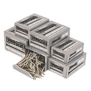 Turbo Silver Woodscrews Trade Pack Double-Self-Countersunk 1400Pcs