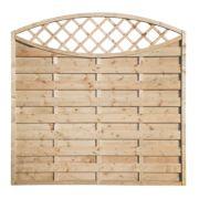 Grange Fencing Elite Eyecatcher Fence Panels 1.8 x 1.8m Pack of 4