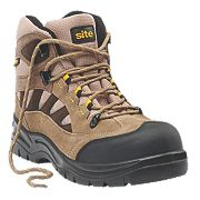 Site Granite Safety Trainer Boots Stone Size 8