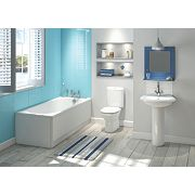 Salisbury Contemporary Bathroom Suite with Roll Top Bath